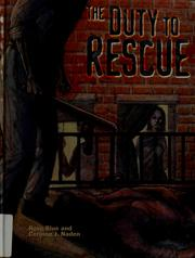 Cover of: The duty to rescue | Rose Blue