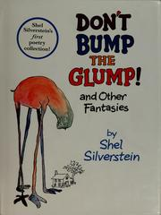 Cover of: Don't bump the glump!