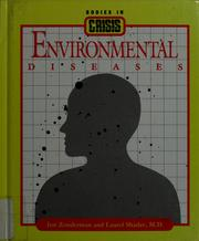 Cover of: Environmental diseases | Jon Zonderman