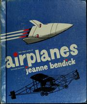 Cover of: The first book of airplanes