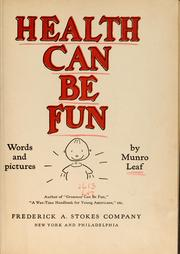 Cover of: Health can be fun