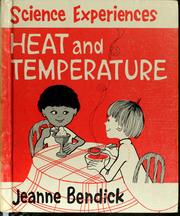 Cover of: Heat and temperature