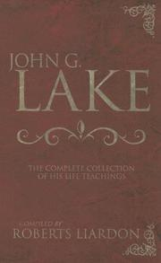 Cover of: John G. Lake Anthology
