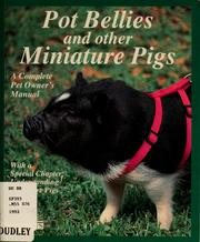 Cover of: Miniature pigs | Pat Storer