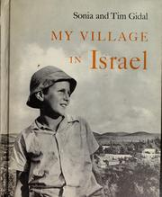 Cover of: My village in Israel