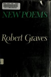 Cover of: New poems | Robert Graves
