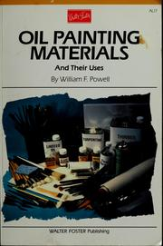 Cover of: Oil painting materials and their uses