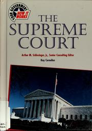 Cover of: The Supreme Court
