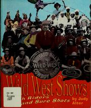 Cover of: Wild West shows