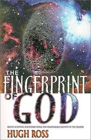 The fingerprint of God by Ross, Hugh