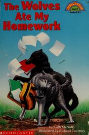 Cover of: The wolves ate my homework