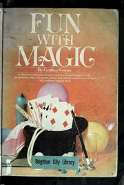 Cover of: Fun with magic | Geoffrey Cowan