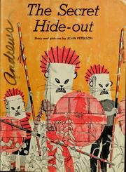 Cover of: The secret hide-out