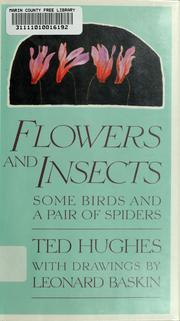 Cover of: Flowers and insects | Ted Hughes