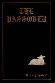 Cover of: The passover