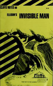 Cover of: Invisible Man | Jeanne Inness