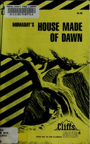 Cover of: House made of dawn