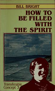 Cover of: How to be filled with the Spirit