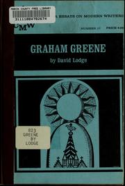 Cover of: Graham Greene | David Lodge