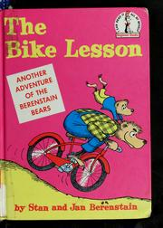 Cover of: The bike lesson