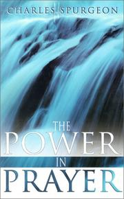 Cover of: The power in prayer