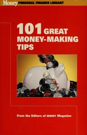 Cover of: 101 great money-making tips | Martin Greenberg