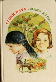 Cover of: Cider days