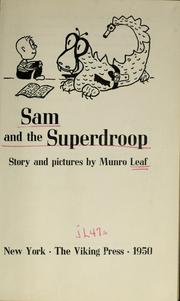 Cover of: Sam and the Superdroop