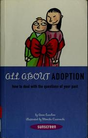 Cover of: Adoption | Anne Lanchon