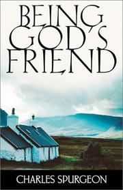 Cover of: Being God's friend