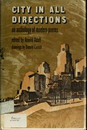 Cover of: City in all directions; an anthology of modern poems
