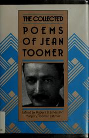 Cover of: The collected poems of Jean Toomer