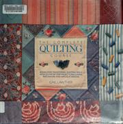 Cover of: The complete quilting course