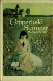 Cover of: Copperfield summer | Marian Potter