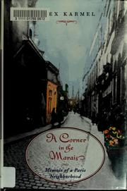 A corner in the Marais