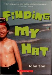 Cover of: Finding my hat | John Son