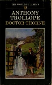 Cover of: Doctor Thorne