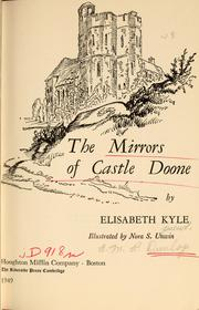 Cover of: The mirrors of Castle Doone | Elisabeth Kyle