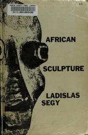 Cover of: African sculpture