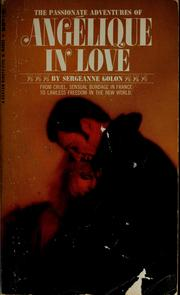 Cover of: Angelique in love