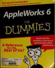 Cover of: AppleWorks 6 for dummies