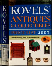 Cover of: Antiques & Collectibles | Ralph Kovel
