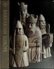 Cover of: Barbarian Europe | Gerald Simons