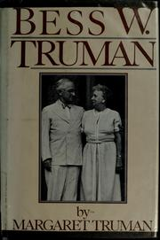 Cover of: Bess W. Truman