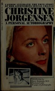 Cover of: Christine Jorgensen