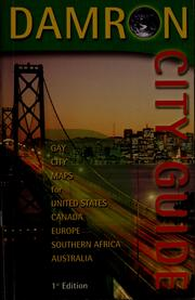 Cover of: Damron city guide