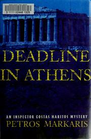 Cover of: Deadline in Athens