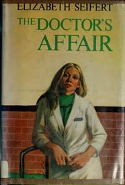 Cover of: The doctor's affair