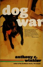 Cover of: Dog war