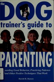 Cover of: The dog trainer